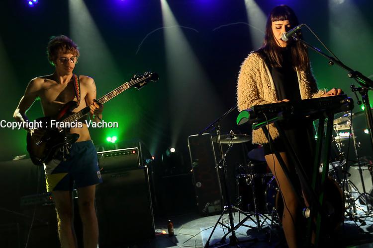 I.D.A.L.G performs at the Festival d'ete de Quebec (FEQ) in Quebec city Sunday July 9, 2017.