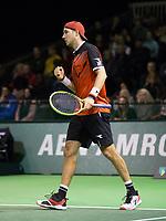 Rotterdam, Netherlands, 9 februari, 2019, Ahoy, Tennis, ABNAMROWTT, JAN-LENNARD STRUFF (GER)  Photo: Henk Koster/tennisimages.com