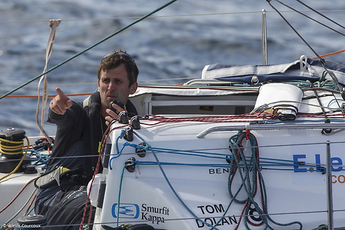 County Meath sailor Tom Dolan gets his first test of 2021in the Solo Maitre Coq Regatta this week