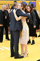 """LONDON, UK. June 18, 2019: Danny Boyle and Lily James arriving for the UK premiere of """"Yesterday"""" at the Odeon Luxe, Leicester Square, London.<br /> Picture: Steve Vas/Featureflash"""