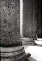 Columns of the Pantheon, Rome, Italy<br />