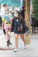 Addison Rae Spotted With A Smoothie in Hollywood