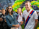 Fernando Ricksen Testimonial :  Fernando Ricksen with his wife Veronica and daughter Isabella.