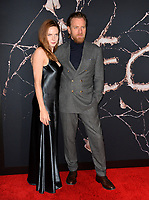 """LOS ANGELES, USA. October 30, 2019: Rebecca Ferguson & Ewan McGregor at the US premiere of """"Doctor Sleep"""" at the Regency Village Theatre.<br /> Picture: Paul Smith/Featureflash"""