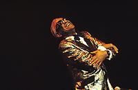 France, Ray Charles en concert lors du Festival de Jazz de Paris le 4 novembre 1989 // France, Ray Charles in concert at the Paris Jazz Festival on November 4, 1989<br /> PHOTO :  Agence Quebec presse