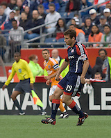 New England Revolution midfielder Michael Videira (19). The Houston Dynamo defeated the New England Revolution, 2-0, at Gillette Stadium on May 3, 2009.