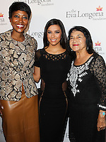 HOLLYWOOD, LOS ANGELES, CA, USA - OCTOBER 09: Eva Longoria, Dolores Huerta arrive at the Eva Longoria Foundation Dinner held at Beso Restaurant on October 9, 2014 in Hollywood, Los Angeles, California, United States. (Photo by Celebrity Monitor)