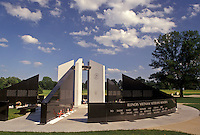 Springfield, IL, Illinois, The Illinois Vietnam Veterans Memorial at Oak Ridge Cemetery in Springfield.