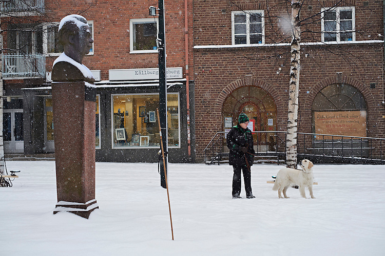 © John Angerson<br /> UMEÅ, the university town in northern Sweden, which has been selected as the European Capital of Culture for 2014