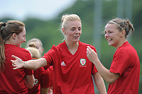 Sophie Ingle of Wales Women during the Wales Women Training Session at the Cardiff International Sports Stadium in Cardiff, Wales, UK. Monday 03 June 2019