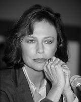 l'actrice Jacqueline Bisset au Festival des Films du Monde<br /> , 23 Aout 1997, Complexe Desjardins<br /> <br /> Actress Jacqueline Bisset at the<br />  World Film Festival, August 1997, Montreal, CANADA<br /> <br /> PHOTO :   agence Quebec Presse