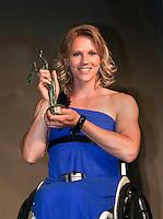 01-06-10, Tennis, France, Paris, Roland Garros, ITF Awasds dinner,  Esther Vergeer werelkampioene rolstoeltennis