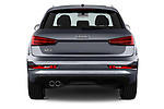 Straight rear view of 2018 Audi Q3  2.0T-FWD-tiptronic-Premium-Plus  5 Door SUV stock images
