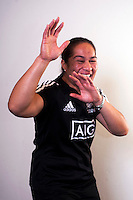 Fiao'o Fa'amausili. New Zealand Black Ferns headshot outtakes at The Rugby Institute, Palmerston North, New Zealand on Thursday, 28 May 2015. Photo: Dave Lintott / lintottphoto.co.nz