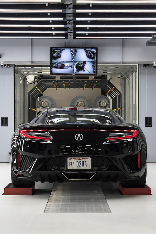 Acura NSX Factory | Autoweek Performance Manufacturing Center at Honda Marysville | Editorial work for AUTOWEEK