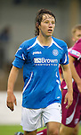 St Johnstone FC....Season 2011-12.Stevie May.Picture by Graeme Hart..Copyright Perthshire Picture Agency.Tel: 01738 623350  Mobile: 07990 594431
