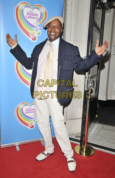 LONDON, ENGLAND - JUNE 02: Leee John attends the Health Lottery VIP tea party, The Savoy Hotel, The Strand, on Monday June 02, 2014 in London, England, UK.<br /> CAP/CAN<br /> ©Can Nguyen/Capital Pictures