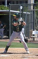 Kyle McCann - Oakland Athletics 2021 spring training (Bill Mitchell)