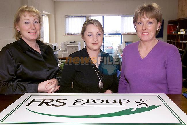 FRS Group Mary Lambe, deirdre Flynn and Breda Finnegan...Picture Fran Caffrey Newsfile.