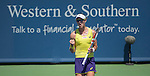 Samantha Stosur (AUS)  at the Western & Southern Open in Mason, OH on August 13, 2014.