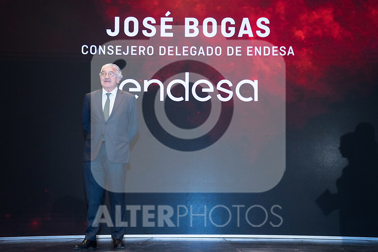 CEO of Endesa Jose Bogas during the official presentation of Spanish National Team of Basketball.  July 24, 2019. (ALTERPHOTOS/Francis Gonzalez)