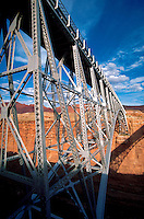 Navajo Bridge, detail, Marble Canyon, Arizona