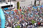 The start of Stage 3 of the 2015 Presidential Tour of Turkey running 165.3km from Kemer to Elmali. 28th April 2015.<br /> Photo: Tour of Turkey/Mario Stiehl/www.newsfile.ie