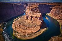 Grand Canyon National Park in Arizona, USA Horseshoe Bend of Colorado River in Arizona, USA