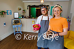 Sam Bongard and Marianna Costello of the newly opened Blow In Coffee shop in Castlegregory.