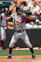 Greene, Brodie 0329.jpg.  Big 12 Baseball game with Texas A&M Aggies at Texas Lonhorns  at UFCU Disch Falk Field on May 9th 2009 in Austin, Texas. Photo by Andrew Woolley.