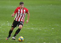 Vitaly Janelt of Brentford in action during Brentford vs Leicester City, Emirates FA Cup Football at the Brentford Community Stadium on 24th January 2021