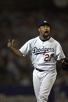 Jose Lima. St. Louis Cardinals vs Los Angeles Dodgers. NLDS Game 3. Los Angeles, CA 10/9/2004 MANDATORY CREDIT: Brad Mangin