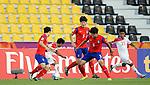 Yemen vs Korea Republic during the AFC U23 Championship 2016 Group C match on January 16, 2016 at the Suhaim Bin Hamad Stadium in Doha, Qatar. Photo by Osama Faisal /  Lagardère Sports
