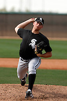 Dan Hudson  -  Chicago White Sox - 2009 spring training.Photo by:  Bill Mitchell/Four Seam Images