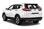 Car pictures of rear three quarter view of 2019 Honda CR-V LX 5 Door SUV Angular Rear