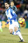 CD Leganes' Pablo Insua during La Liga match. January 28,2017. (ALTERPHOTOS/Acero)