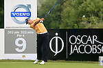 Alvaro Quiros (ESP) tees off at the 9th tee during Day 2 of the Volvo World Match Play Championship in Finca Cortesin, Casares, Spain, 20th May 2011. (Photo Eoin Clarke/Golffile 2011)