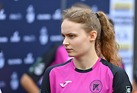 Aalst's Tiana Andries pictured during a female soccer game between Club Brugge Dames YLA and Eendracht Aalst Ladies on the 9 th matchday of the 2020 - 2021 season of Belgian Scooore Womens Super League , saturday 12 December 2020  in Brugge , Belgium . PHOTO SPORTPIX.BE | SPP | DAVID CATRY