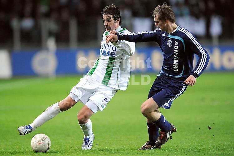 voetbal fc groningen - ajax erediivisie seizoen 2007-2008 16-04-2008  .goran lovre.fotograaf Jan Kanning
