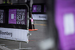 Runners compete at the Bloomberg Square Mile Relay at the Seaport District on 21 April 2016, in New York, USA. Photo by Victor Fraile / Power Sport Images