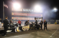 Jul. 29, 2011; Sonoma, CA, USA; Crew members for NHRA top fuel dragster driver Del Worsham during qualifying for the Fram Autolite Nationals at Infineon Raceway. Mandatory Credit: Mark J. Rebilas-