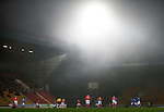 St Johnstone v Ross County....22.11.14   SPFL<br /> The mist rolls in at McDiarmid Park<br /> Picture by Graeme Hart.<br /> Copyright Perthshire Picture Agency<br /> Tel: 01738 623350  Mobile: 07990 594431