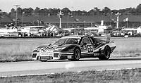 #66 Ferrari 512 of Jean-Claude Andruet, Spartaco Dini, and Claude Ballot-Léna, 53rd place, 24 Hours of Daytona, Daytona International Speedway, Daytona Beach, FL, February 1979. (Photo by Brian Cleary/bcpix.com)