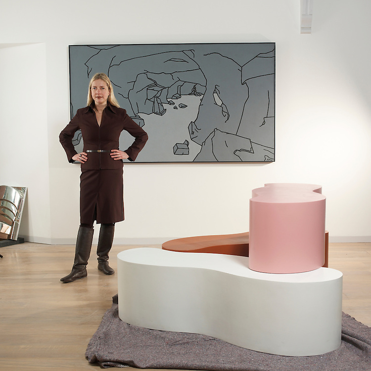 Gallery director at the newly refurbished Whitechapel gallery Iwona Blazwick...please note this is a licenced images and terms and condition apply.