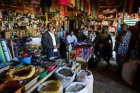 MADAGASCAR , Vohilava, shop of chinese businessman / MADAGASKAR Mananjary, Vohilava, Laden von ERNEST WAI und seine Frau MAMY ELIANE, chinesisch-madagassische Geschaeftsleute, sie kaufen auch Gold an