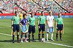 Aya Miyama (JPN), Stephanie Houghton (ENG), JULY 1, 2015 - Football / Soccer : FIFA Women's World Cup Canada 2015 Semi-final match between Japan 2-1 England at Commonwealth Stadium in Edmonton, Canada. (Photo by AFLO)