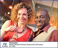 Macha Limonchik et  Didier Lucien dans Pure Laine<br /> <br /> Editorial Only - for media use only<br /> Pour usage media (editorial)  Uniquement<br /> <br /> (c) Tele Quebec
