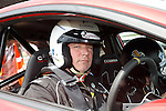 Ally McCoist about to do some fast rallycross laps at Knockhill today as Ladbrokes Ambassadors preview Euro 2016
