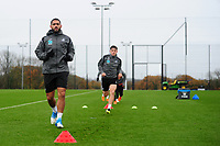 Cameron Carter-Vickers of Swansea City in action during the Swansea City Training at The Fairwood Training Ground, Swansea, Wales, UK. Wednesday 07 November 2018