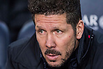 Coach Diego Simeone of Atletico de Madrid looks on prior to the Copa del Rey 2016-17 Semi-final match between FC Barcelona and Atletico de Madrid at the Camp Nou on 07 February 2017 in Barcelona, Spain. Photo by Diego Gonzalez Souto / Power Sport Images